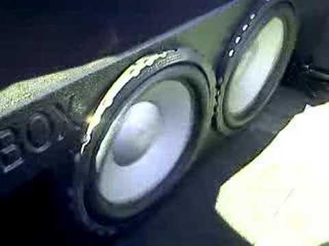 2 12 INCH DIAMOND AUDIO D6 SUBS
