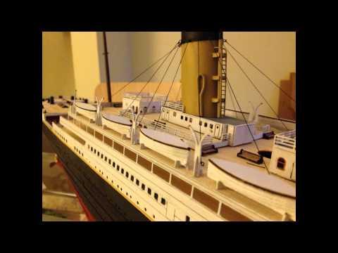 Titanic model build 1:200