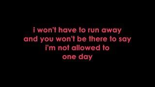 Simple Plan - One Day (Lyrics)