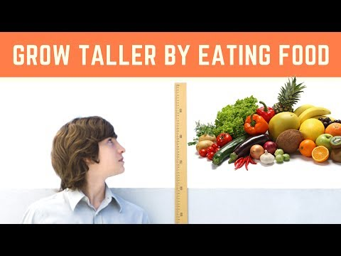 FOODS TO GROW TALLER