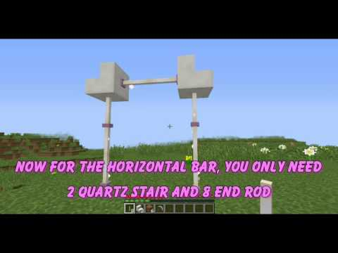 The Amazing World of Lexie - Minecraft Tutorial #1 - Gym Equipments