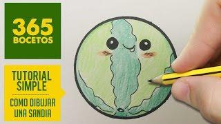 Como Dibujar Sandia Kawaii Paso A Paso Videos 9tube Tv