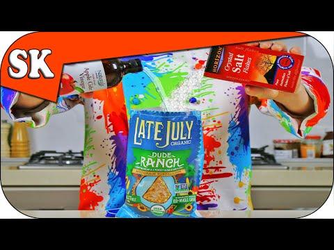 Salt & Vinegar Seasoning - How do they do that? How to make Popcorn