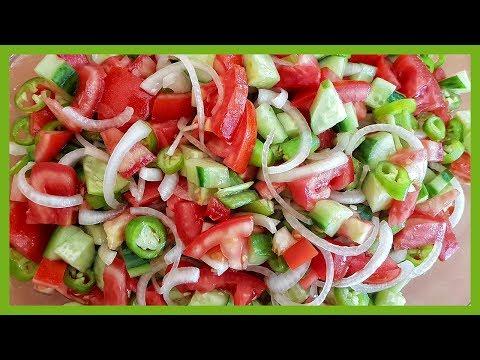 Turkish Shepherd's Salad Recipe