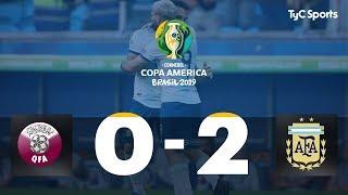 Highlights Qatar vs. Argentina   #CopaAméricaEnTyCSports