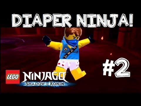 LEGO Ninjago: Shadow of Ronin Walkthrough/Gameplay English Commentary 3DS/PS VITA Part 2 A-Hole!