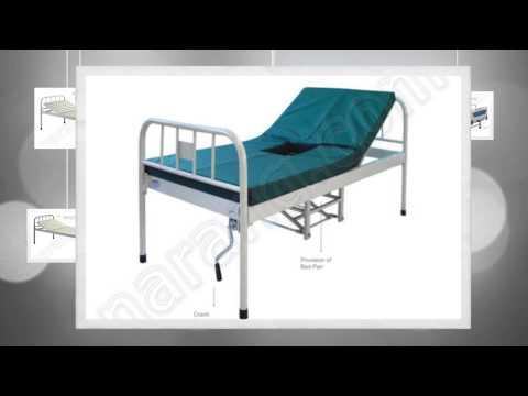 Semi Fowler Beds | Semi Fowler Beds Manufacturer | Hospital Semi Fowler Bed