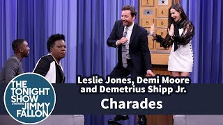 charades with leslie jones demi moore and demetrius shipp jr