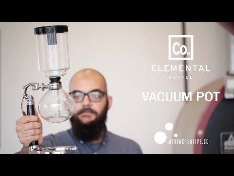 How to Brew Vacuum Pot Coffee