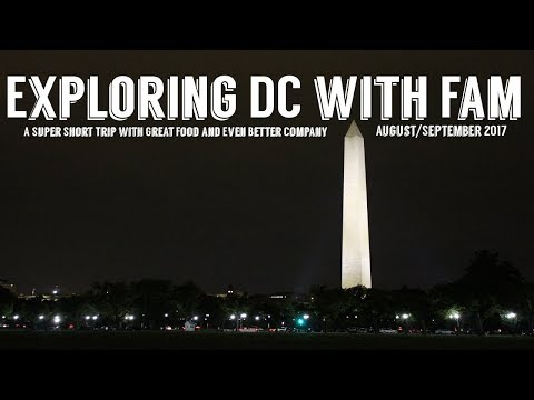 An Evening In DC | Good Food & Even Better Company | Wandering Around In Wonder
