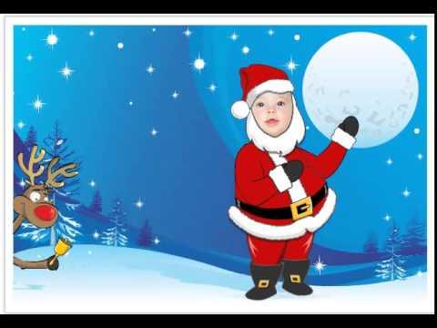 Tạo thiệp giáng sinh với ông già Noel vui nhộn - http://taimienphi.vn