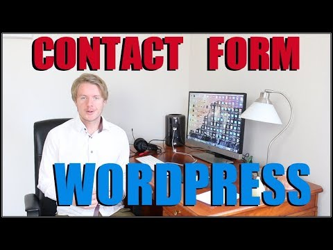 How to Add Contact Form 7 in Wordpress Theme 2018