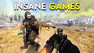 Insane Games in Warzone! - Modern Warfare Battle Royale