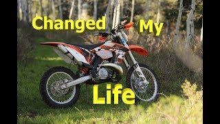 Must have mod for older KTM dirt bike - KTM300 build Part1