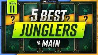 The 5 BEST JUNGLERS to MAIN in Season 11! - League of Legends