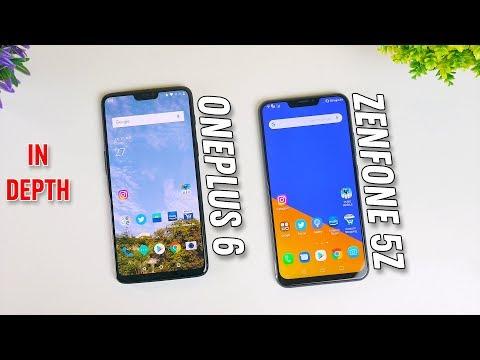 OnePlus 6 vs Zenfone 5Z In depth comparison. Battle of budget flagships.