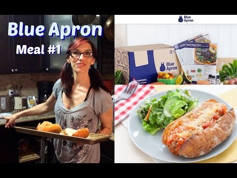 Blue Apron Review, Meal #1 Meatball Subs