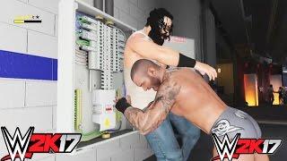 WWE 2K17-Randy orton vs Luke Harper at Backstage Brawl(PS4)