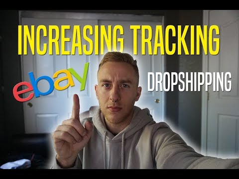 Increasing Tracking % eBay Dropshipping