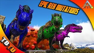 2,000 Rex Eggs! 20k Subscriber Special! Epic Rex Color Mutations! Ark Survival Breeding Evolved
