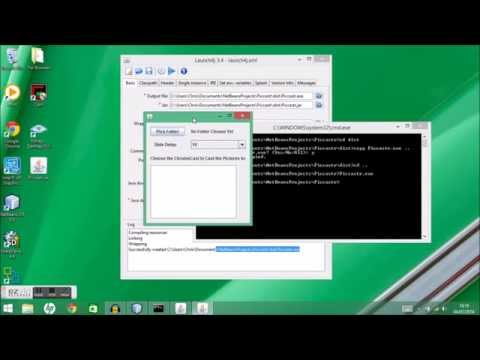How to make a windows exe file from a jar file