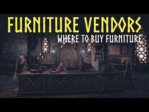 ESO Homestead: Furniture Vendors Guide - Where to buy furniture in The Elder Scrolls Online (ESO)