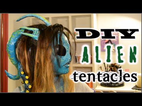 DIY Alien Tentacles | Halloween Tutorial!