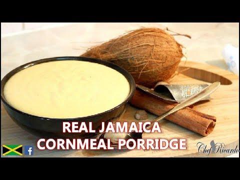 Real Jamaica Cornmeal Porridge How To Make Real Caribbean Porridge | Recipes By Chef Ricardo