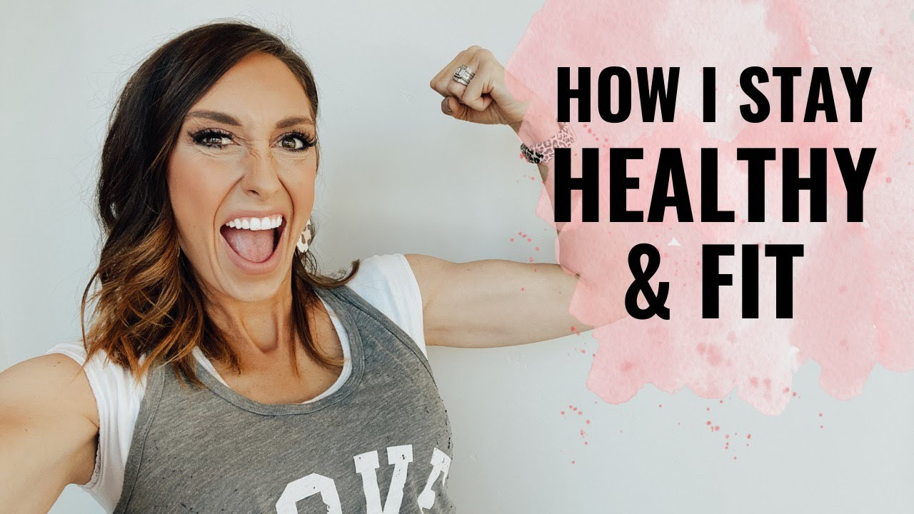 How I stay healthy & fit! My self-care routine - Jordan Page