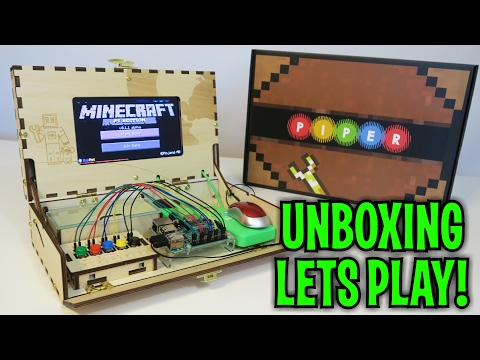 Unboxing & Let's Play : PIPER - MINECRAFT Computer Kit STEM (FULL REVIEW!)