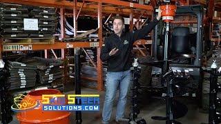 Eterra Sickle Bar Mower Attachment - Product Demonstration - PakVim