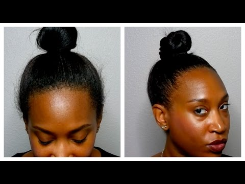 How To Get Your Bun To Look Fuller⎪Thin Natural Hair