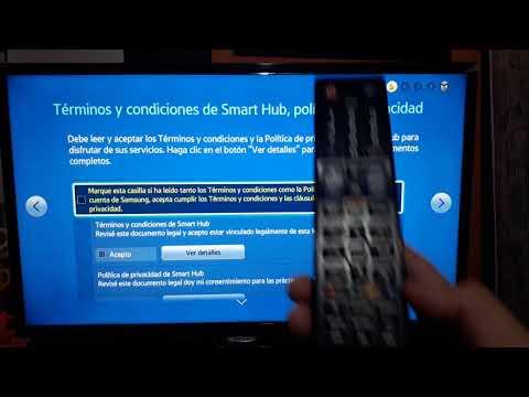 Como cambiar de region / pais un Smart TV Samsung