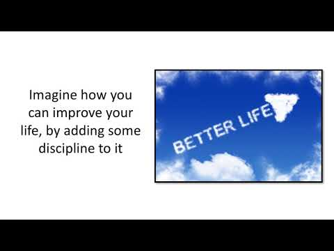 self discipline   Conclusion