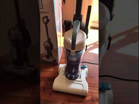 Black & Decker Lightweight Vacuum BDLCE101 Assembly Test and Reviewed