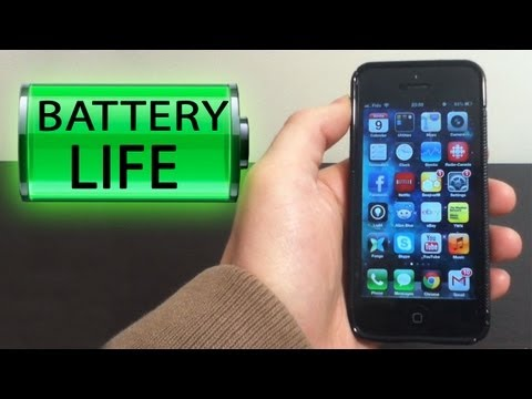 Extend your iPhone's Battery Life (iPhone 5)