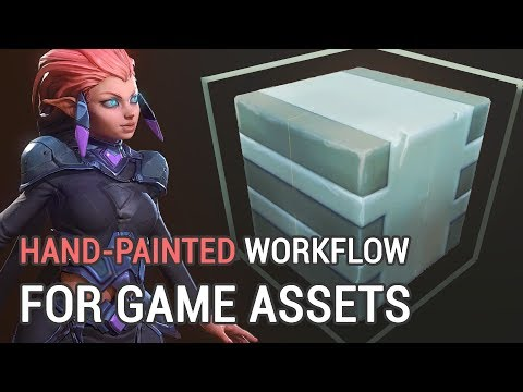 Handpainted Workflow For Game Assets