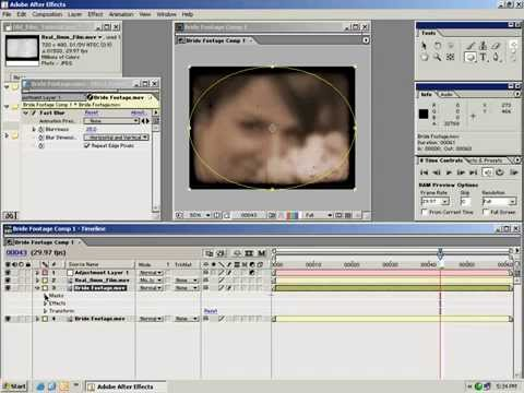Create an authentic old-film look -Adobe  After Effects Tutorials