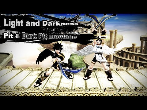 Light and Darkness - Pit and Dark Pit montage (Super Smash Bros 3DS)
