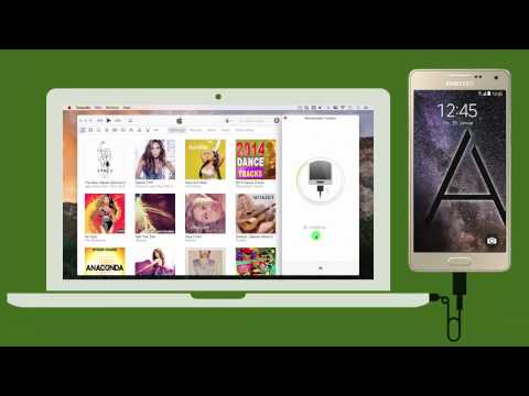 Android: How to Sync iTunes Playlists to Samsung Galaxy A5 on Mac ?