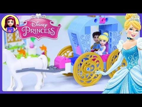LEGO Juniors Disney Princess Cinderella's Carriage Build Review Silly Play - Kids Toys