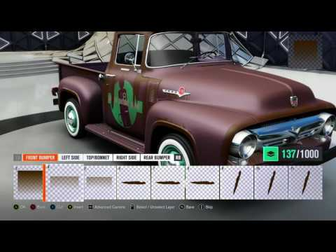 Forza Horizon 3 how to Rust and Weather an old Ford Truck Timelapse