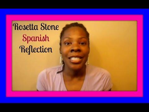 Rosetta Stone Spanish Reflection - Learning Spanish for Beginners #CQ76
