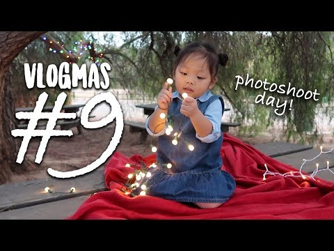 SEWING & PHOTOSHOOT SUNDAY | VLOGMAS #9