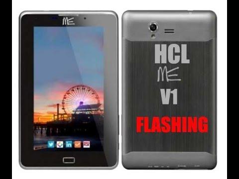 HCL ME V1 Tablet Flashing