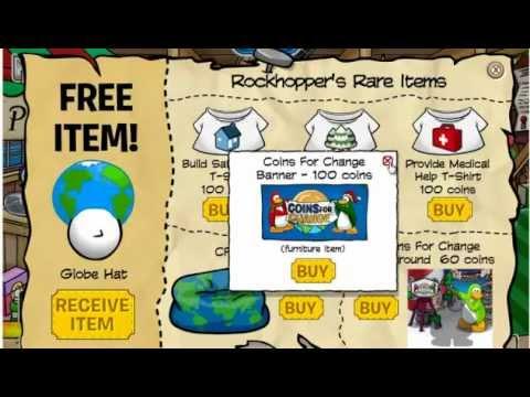 Club Penguin Rockhopper's Pirate Catalog December 2011 Hidden Items [CHEAT]