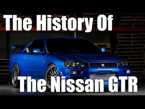 The History Of The Nissan GTR