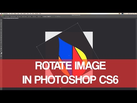 How To Rotate Image In Photoshop CS6