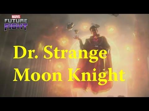 Marvel: Future Fight - Moon Knight Dr. Strange Team Iron Man Uniforms