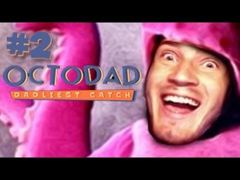NOBODY SUSPECTS A THING! - Octodad: Dadliest Catch (Pre Build) - Part 2